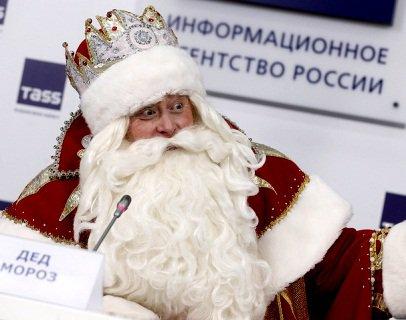 Подарунок Путіну від діда Мороза (відео)