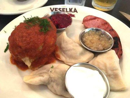 Український ресторан у Нью-Йорку