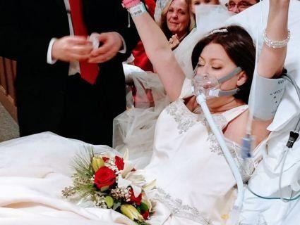 Американка вийшла заміж за кілька годин до смерті