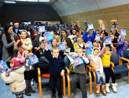 200 луцьких сімей отримали подарунки в рамках акції «З Різдвом у серці»