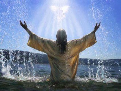 «А що третій празник - Святе Водохреще, радуйся!»
