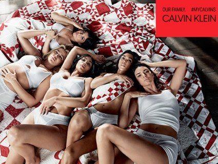 Сестри Кардашян знялися в груповій еротичній фотосесії