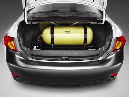 Автомобіль на газу – значна економія