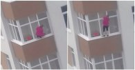 Відчайдушна домогосподарка: полізла мити вікна на карниз п'ятого поверху