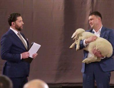 Волинський фермер став переможцем у шоу на 1+1 та виграв 30 овець
