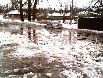 Через різке потепління в окремих областях можливий потоп