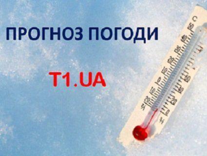 Прогноз погоди на вівторок, 13 березня