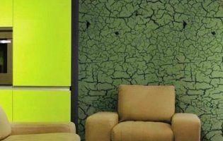 Штукатурка кракелюр: від живопису до дизайну
