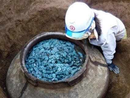 В Японії знайшли найбільший загублений скарб