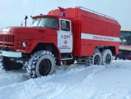 40 людей врятували зі снігової пастки волинські МНСники