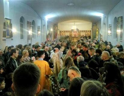 У храмах міста лучани освятили вербу