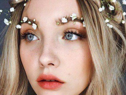 Тренд весни - квітучі брови
