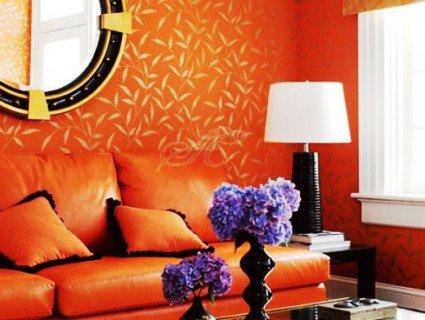 Секрети помаранчевого кольору в інтер'єрі