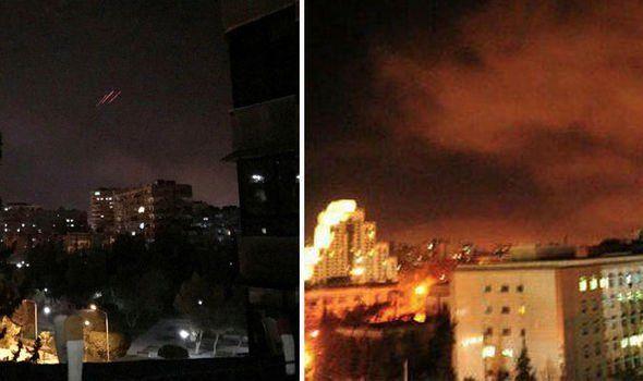 США, Франція і Британія бомбардували об'єкти Асада в Сирії