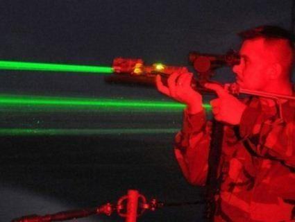 У зоні АТО бойовики застосували лазерну зброю