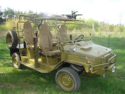 Як переробити ЛуАЗ «Волинь» військовий джип (фото)