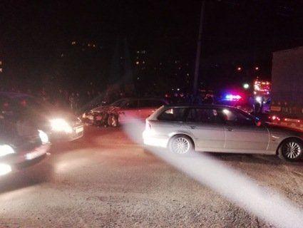 На Прикарпатті п'яний священик з пасажиркою в авто утікав від поліції