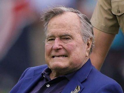 Джордж Буш-старший госпіталізований
