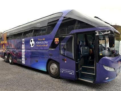 У Луцьк їде автобус, який возив Мессі та Неймара (фото)