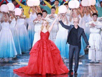 Українська співачка виступила на відкритті Пекінського міжнародного кінофестивалю (фото, відео)