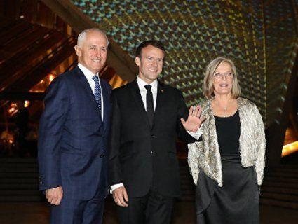 Еммануель Макрон назвав жінку прем'єр-міністра Австралії «дуже смачною»