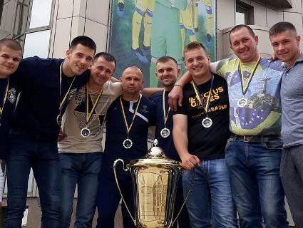 Волинські герої АТО здобули першість у «Кубку нескорених»