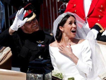 Фото весілля герцога і герцогині Сассекських: офіційні та неофіційні