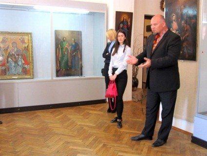 Уперше у Володимирі показали відреставровані твори сакрального мистецтва
