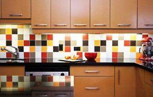 Як вибрати плитку на кухонний фартух?