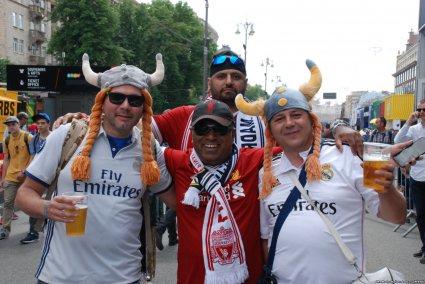 Ліга чемпіонів: фанати у Києві (фото)