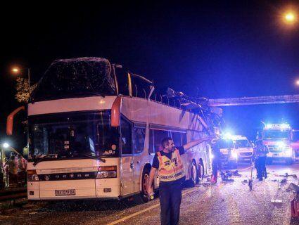 В Європі розбився автобус із українцями