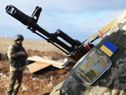 На Донбасі поранено  чотирьох українських військовослужбовців