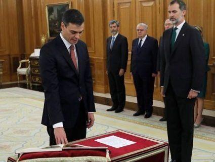 Новий іспанський прем'єр-атеїст відмовився присягатися на Біблії
