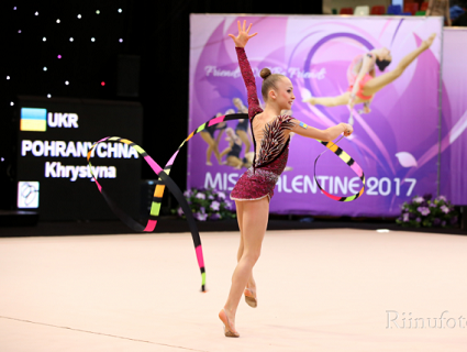 Українська збірна завоювала срібло чемпіонату Європи з художньої гімнастики