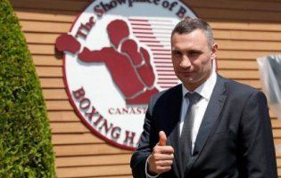 У США в Залі слави боксу - перший українець