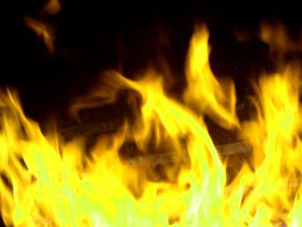 На Вінниччині горить три тони кукурудзи