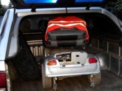 В Луцьку копи прийшли на порятунок інваліду, чий електровізок заглух посеред дороги