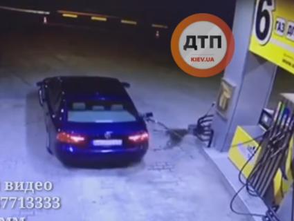 На Київщині через забудькуватого водія злетіла в повітря заправка