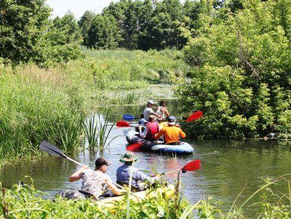 На Волині волонтери розчистили 9 кілометрів річки Путилівки