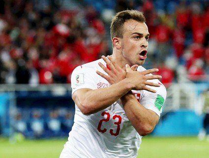 Швейцарських футболістів оштрафували за «двоголового орла»