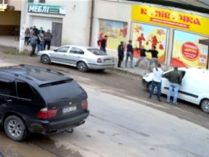 На Івано-Франківщині таксисти ділили територію з битою і пістолетом