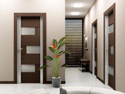 Переваги та недоліки дверей із екошпону