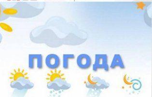 Прогноз погоди на вівторок, 17 липня
