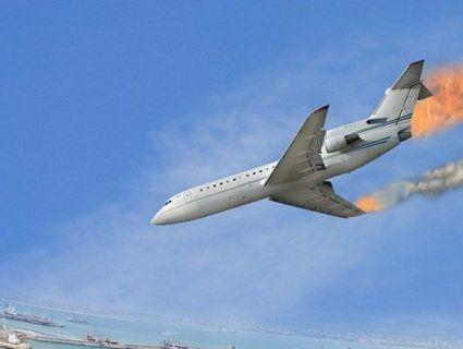 Літак палав і падав, а пасажири знімали це на відео (відео)