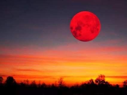 Сьогодні вночі рідкісний Кривавий Місяць і найдовше затемнення