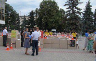 «Я не товар!» - волиняни долучилися до всеукраїнської акції протидії торгівлі людьми (фото)