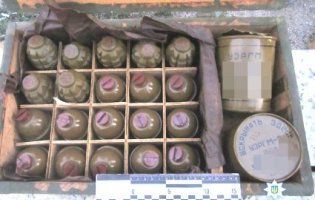 На Запоріжжі у потязі знайшли бойові гранати