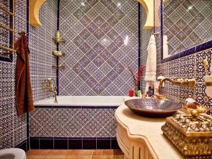 Ванна кімната в марокканському стилі