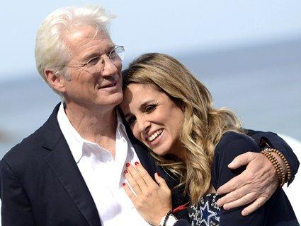 68-річний Річард Гір знову стане татусем