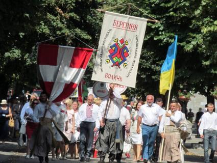 У Луцьку урочиста хода з нагоди фестивалю